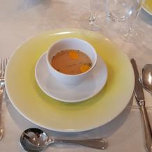 素材を活かしたスープ