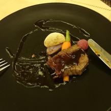 松阪牛フィレ肉のソテー