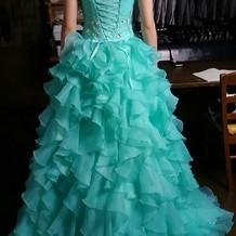 お色直しドレス