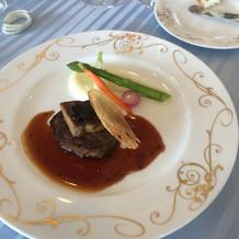 フィレ肉とフォアグラです