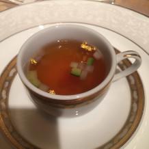 伝統のスープだそうです