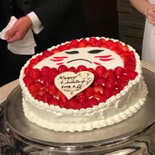 オリジナルのウェディングケーキ!