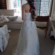 フォトツアー用ドレス