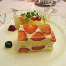 デザート(一例) 生ケーキベース