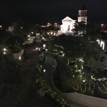 夜の雰囲気が素敵です
