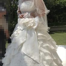 ウエディングドレス挙式