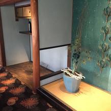 ゲストの待合室の写真です。