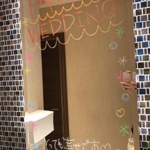 トイレの演出