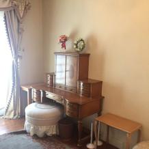 2階の花嫁控え室です