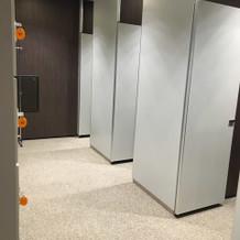 更衣室、ロッカールーム ※2階