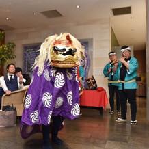 獅子舞&お囃子