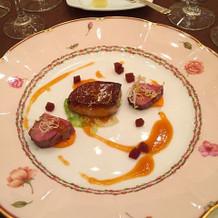 フォアグラと鴨肉