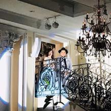 憧れの階段入場♪