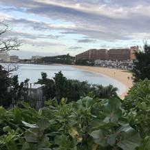 ビーチ撮映に使われるビーチ