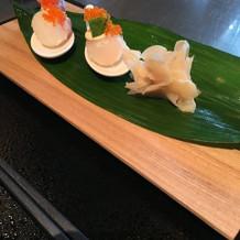 見た目も可愛らしいお寿司