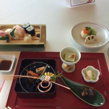 試食会にて1万3000円の和食料金
