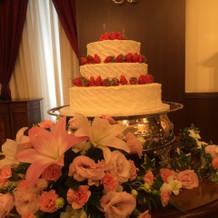 こんな大きなケーキもできるようです。