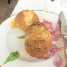 モナリザの刻印入りパン