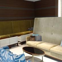 ウェルカムスペースのソファ