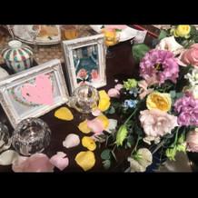 メインテーブル装花1