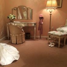 花嫁の部屋