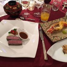 料理はとても美味しかったです!