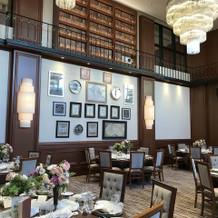 イギリスの書斎をイメージした部屋