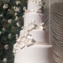 飾ってあったケーキ