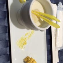 トウモロコシの冷静スープ
