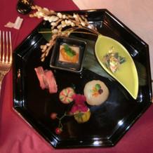 和コース「ことほぎ」祝い膳