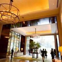 パレスホテルのロビー写真