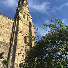 趣のある立派な教会