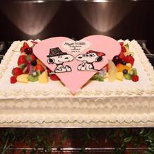 特注 ウエディングケーキ