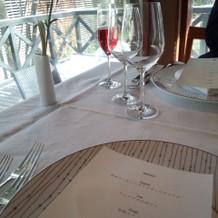 ホテル内レストラン