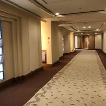 ホテル内の雰囲気