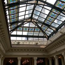 広場の天井