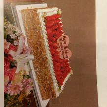 選んだケーキ