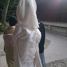 白無垢+綿帽子