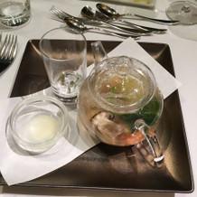 蛤とお野菜がとっても美味しかったです