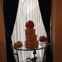 ウェディングケーキオブジェ