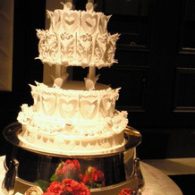 ケーキカットイミテーションの場合。