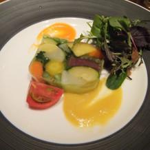 野菜のテリーヌ