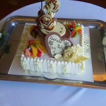 素敵なケーキでした。
