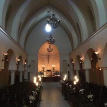 教会です。とても幻想的。