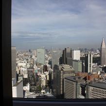 ホテルからの昼の眺め