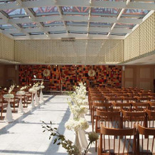 屋上の挙式場