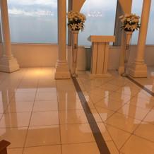 46階スカイチャペルの景色は絶景