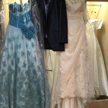 実際に来たドレス、タキシード