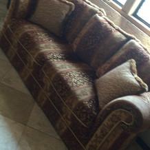 高級感のあるソファー