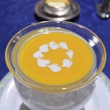 洋食・冷製スープ。